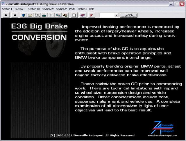 BMW E36 Big Brake Conversion Manual